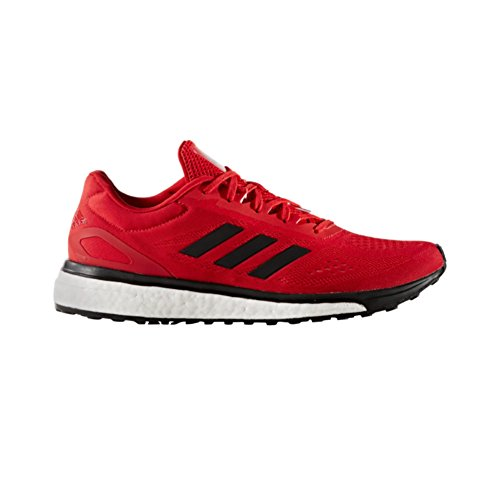 adidas Response Boost LT Mens Running Shoe 10.5 Scarlet-Black-Silver Met