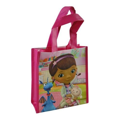 12-Pack Doc McStuffins Non-Woven Mini Party Tote Bags