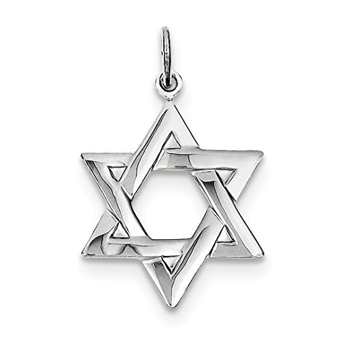 ICE CARATS 925 Sterling Silver Jewish Jewelry Star Of David Pendant Charm Necklace Religious Judaica Fine Jewelry Ideal Mothers Day Gifts For Mom Women Gift Set From (Designer Star Of David Necklace)