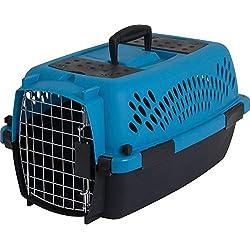 Aspen Pet Porter Transportín para mascotas de alta resistencia, Breeze/Black, UP TO 10 LBS