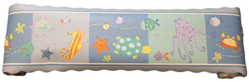 Sea Life Wall Border by KidsLine