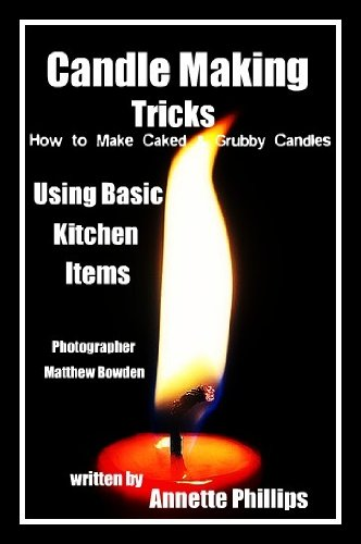 Candle Making: How to Make Caked & Grubby Candles Using Basic Kitchen Items