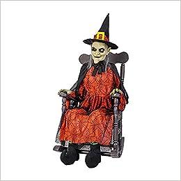 Fine Amazon Com Home Accents Holiday 51 In Animated Witch In Creativecarmelina Interior Chair Design Creativecarmelinacom