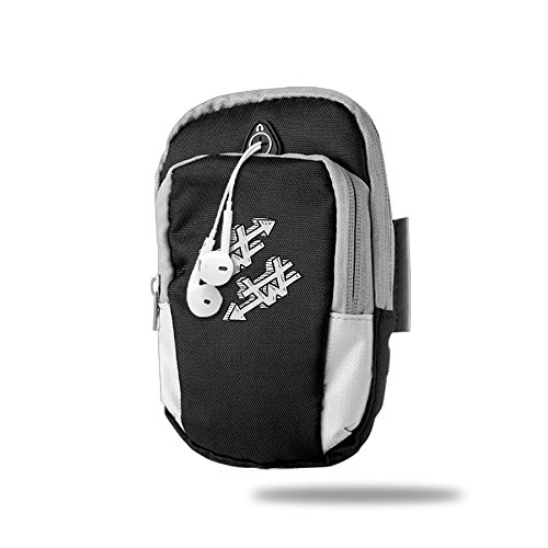 Laos Currency Symbol Kip LAK Unisex Sports Arm Bags Pouch Portable Armband Adjustable Arms Package Punch Case Holder For Mobile Cell Phone