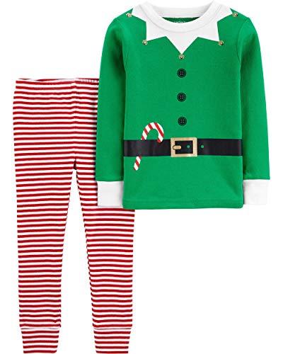 Carter's Little Girls' Christmas 2-Piece Snug Fit