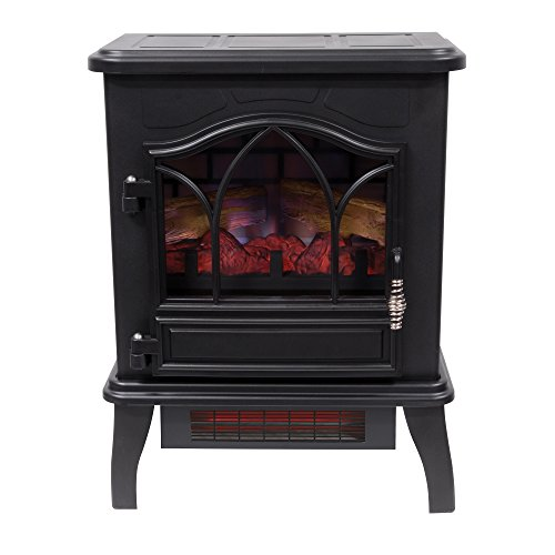 Duraflame DFI-470-04 Infrared Quartz Fireplace Stove, Black by Duraflame Electric (Image #6)