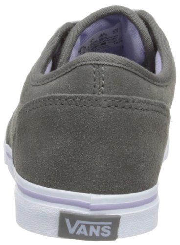 Women's Suede Top Vans Pewter Atwood Low Trainers 5nWWXB0f