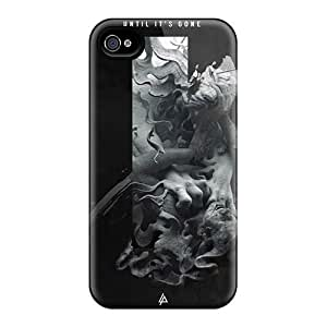 VIVIENRowland Iphone 4/4s High Quality Hard Phone Cases Provide Private Custom Realistic Linkin Park Pictures [NCg10261jEiC]