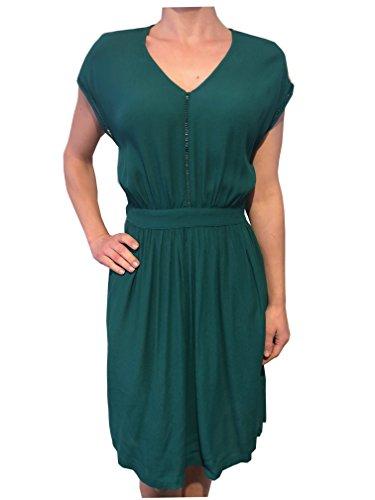 Soaked in Luxury Damen Kyra Dress SS 30402798 in 44027 Storm Green XS n0LHeC