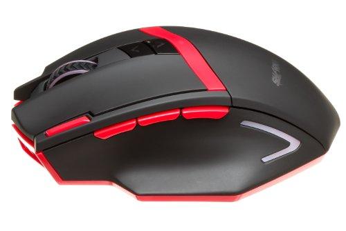 SHARKK® Wireless Gaming Mouse 2400 DPI High Precision Optic
