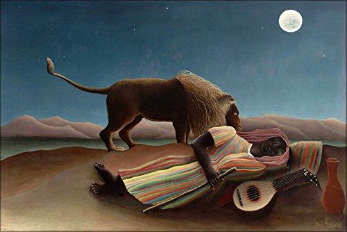 - 20x30 Poster; Sleeping Gypsy By Henri Rousseau 1897