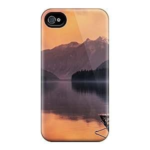 Hard Premium Diy For LG G3 Case Cover Skin(spiney Log In Misty Lake)