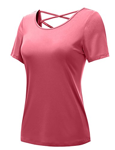 Regna X Bother Women's Moisture Wicking Super Dri Fit Sport Performance Tops (S 3X, Plus Sizes)