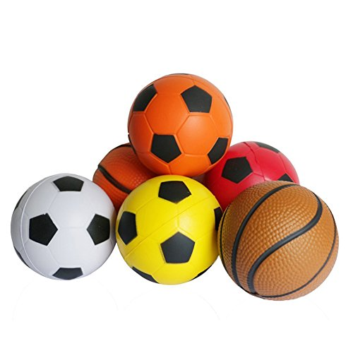 Fajiabao Sport Ball Games Toy Kit for Toddlers Youth Children Little Boys Girls Indoors and Outdoors (Toy Ball)