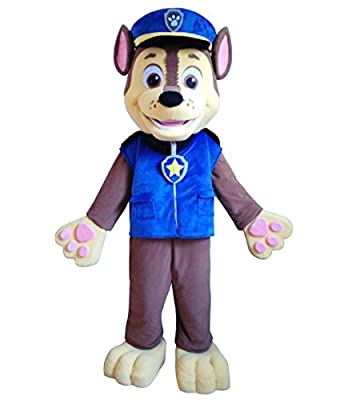 "Paw patrol dog mascot costume for ""TOLO Trading Co."""
