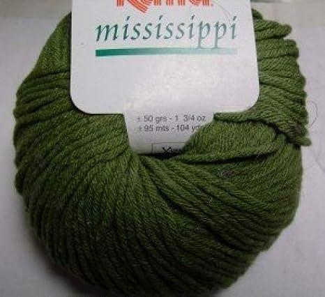Katia Mississippi algodón/acrílico ovillo de lana, 50 g, color ...