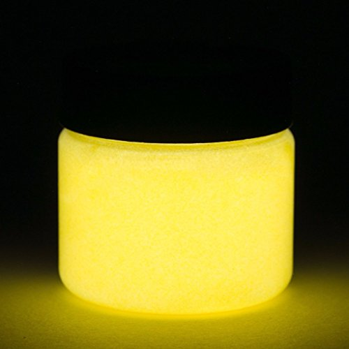 Fluorescent Glow In The Dark Paint - 1 Ounce (Fluorescent Orange) - 5+ Colors - Glow Paint Make How Dark In To The