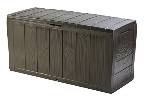 Keter Sherwood Outdoor Plastic Storage Box Garden...