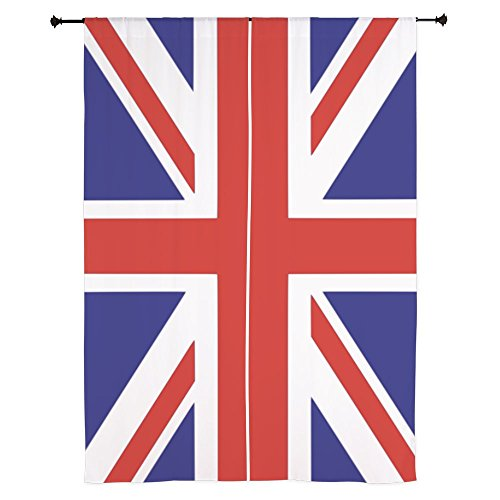 CafePress British Curtains Window Treatment