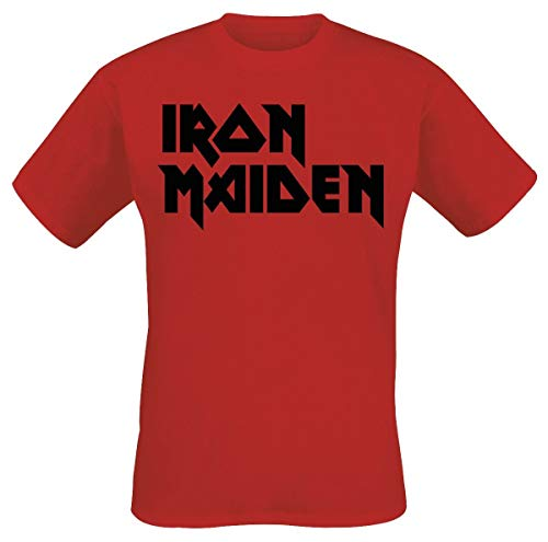 Rosso Maiden Logo shirt Iron T Classic UOwXxnqP