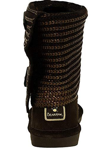 Bearpawknitallic Para Bearpaw Mujer Knitallic Bronce SqnvBB6