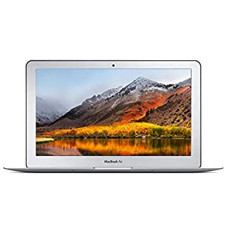 Apple MacBook Air 11.6-Inch Laptop Core i7 1.8GHz (MD214LL/A), 4GB Memory, 256GB Solid State Drive, MacOS 10.12 Sierra (Renewed)