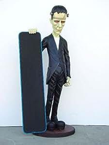 Walt-Deko Franken Piedra con Oferta–Pizarra con Oferta lebensgroß 180cm para Exterior de polirresina