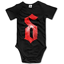 ZQND The Letter S Wing Geek Short Sleeves Variety Baby Onesies For Babies