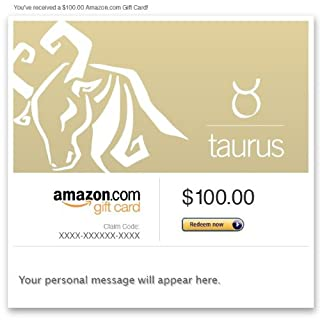 Amazon Gift Card - Email - Birthday (Taurus: Apr. 20-May 20) (B00DNHL30S) | Amazon price tracker / tracking, Amazon price history charts, Amazon price watches, Amazon price drop alerts