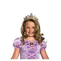 Disney Tangled Rapunzel Tiara Costume Accesorio, Niño de talla única