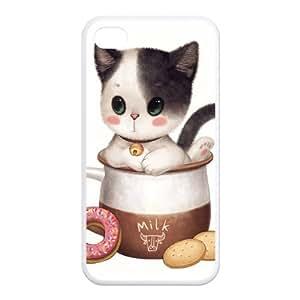 Fashion Carton cat Personalized iphone 6 4.7 Rubber Silicone Case Cover