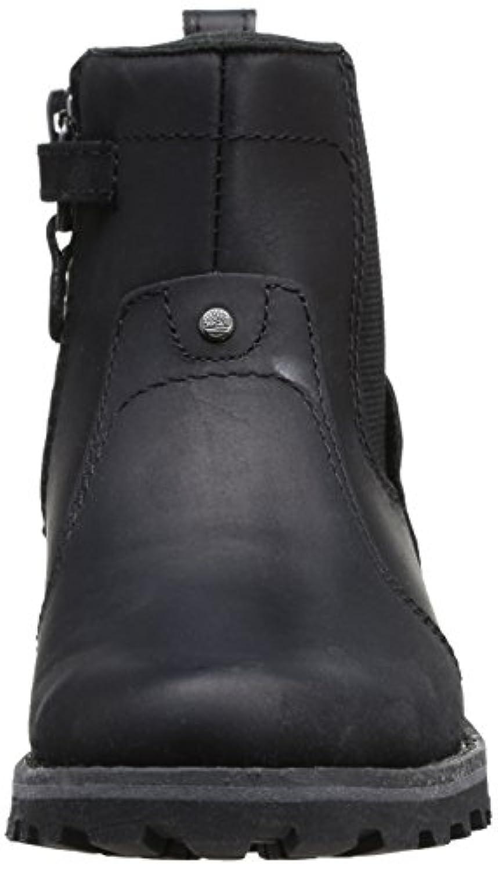 Timberland Asphalt Trail 1279R, Unisex Kids' Chelsea Boots, Black, 1 UK