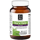 Pure Essence Labs One n Only Prenatal Vitamins – One a Day Multivitamin Support with Iron, Natural Herbs, Superfoods and Folate – 30 Tablet Review