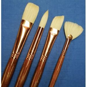 6 Pack NATL BRISTLE FILBERT BRUSH Drafting, Engineering, Art (General Catalog)