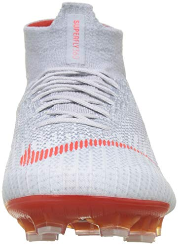 Elite Wolf Superfly Grey Lt Platinum de Chaussures Multicolore Homme 6 Nike Crimson Football Pure 060 FG vEwxAqzn