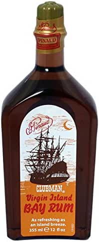 Clubman Virgin Island Bay Rum Cologne 12oz !! 7Pack !!