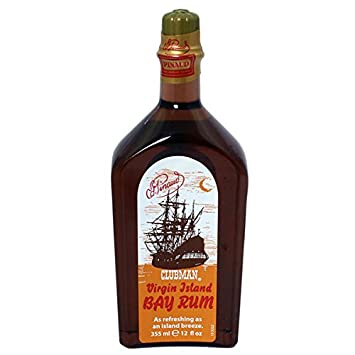 Clubman Virgin Island Bay Rum Cologne 12oz 7Pack