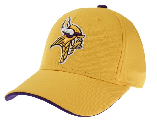 Minnesota Vikings NFL Youth Performance Flex Cap Hat (BOYS 8-20) (Vikings Hard Minnesota Hat)