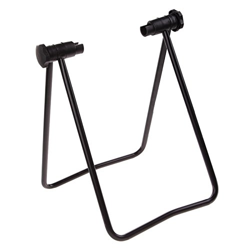 Adahill(TM) Portable Bicycle Bike Display Triple Wheel Hub Repair Stand Kick Stand for Parking Holder