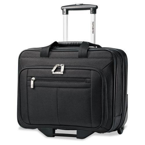 SAMSONITE CORP/LUGGAGE DIV Wheeled Business Case, 16-1/2 x 8 x 13-1/4, Black (438761041) by Samsonite