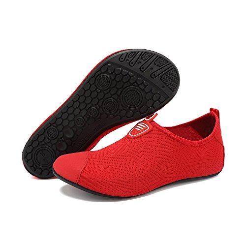 Hommes De Schage Plonge Chaussettes Red4 Femmes Snorkeling Rapide Bybetty Respirant Natation Unisexe Plage D'eau Chaussures A Yoga wUxUqfZR0