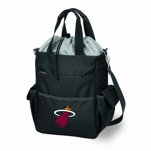 NBA Miami Heat Insulated Activo Cooler Tote by Picnic Time by PICNIC TIME