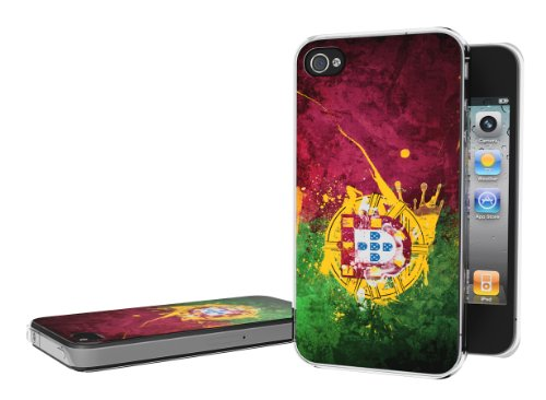 Master Case - Coque iPhone 4/4S Drapeau Grunge - Portugal