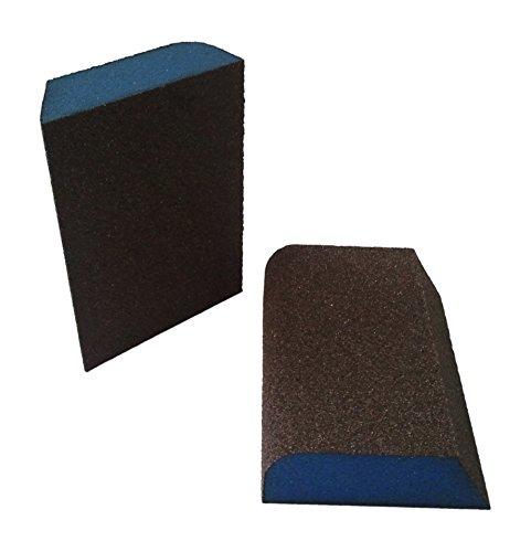 Webb Abrasives 200040 Large Combo Block Sanding Sponges (24 Pack), Medium Grit, 3