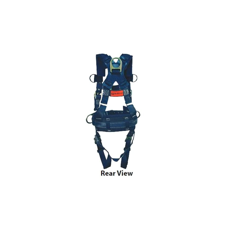 Elk River FireFly Platinum Series Harness with Quick Connect Buckles, 3 D rings, Polyester/Nylon, Medium