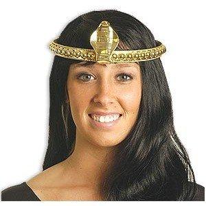 Egyptian Cobra Headband- Gold-Womens