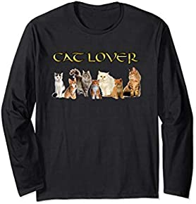 Cat Lovers Long sleeve t-shirt
