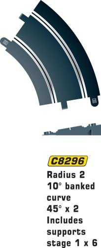 Scalextric C8296 Track Radius - 45 Degrees Banked Curve