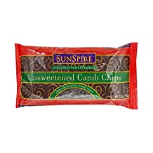 Sunspire 32982 Unsweetened Carob Chips