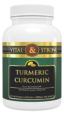 Turmeric Curcumin Capsules with Bioperine 1000mg Per Serving Supplement. Highest Premium Potency Available. Premium Pain Relief & Joint Support with 95% Standardized Curcuminoids. Non-GMO, Gluten Free with Black Pepper (Raw Freeze Dried Turmeric compare prices)